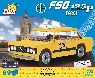 Fiat 125p Taxi (89 Teile)