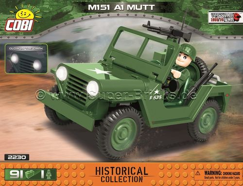 US Jeep M151 A1 Mutt (90 Teile)