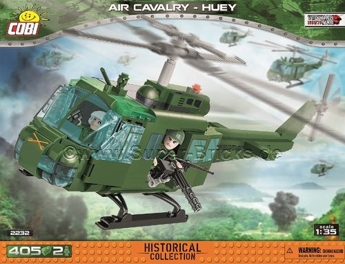Bell UH-1 Huey 1st Air Cavalry Division (405 Teile)