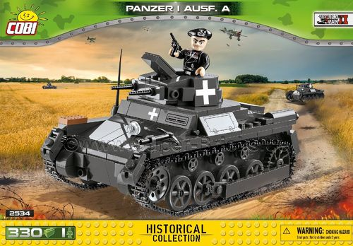 PzKpfw I Ausf. A (330 Teile)