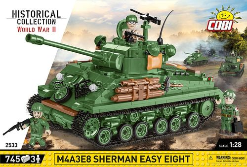 Sherman M4A3E8 Easy Eight (725 Teile)