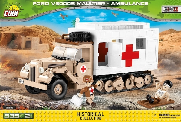 2518_Cobi_2.WK_Ford_Maultier_Ambulance_www-super-bricks.de_1