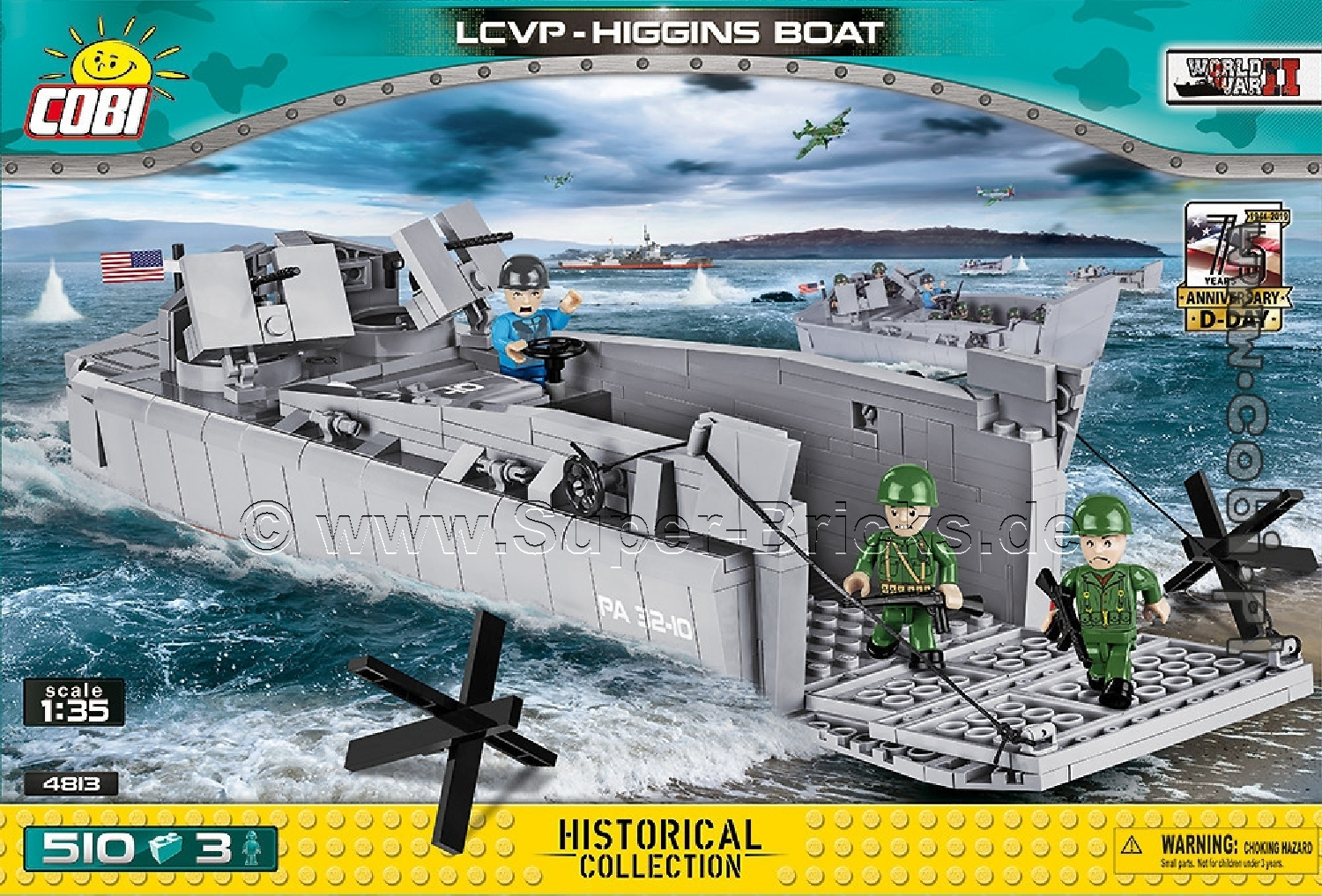 4813_Cobi_2.WK_LCVP_Landungsboot_www-super-bricks.de_1