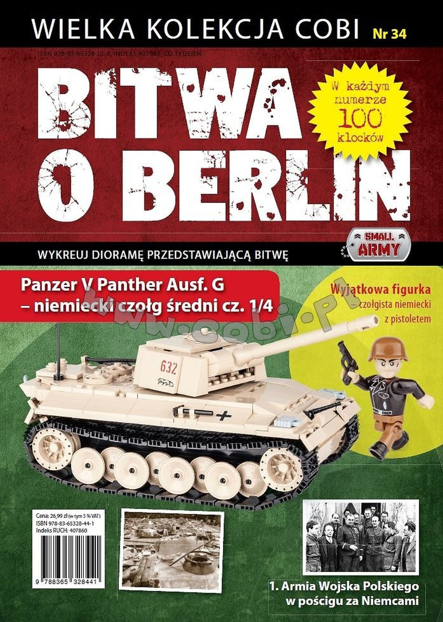555534_Cobi_2.WK_Sammelheft_34,35,36,37_Panther_www-super-bricks.de_1_Cobi_2.WK_www-super-bricks.de